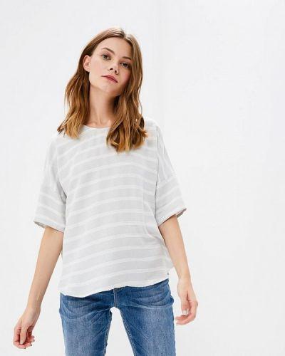 Серая блузка с коротким рукавом Broadway