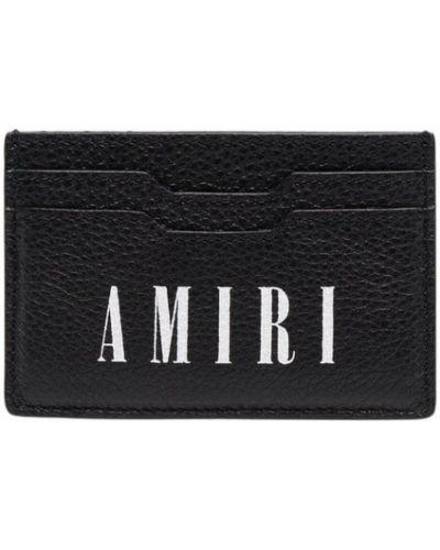 Czarny portfel Amiri