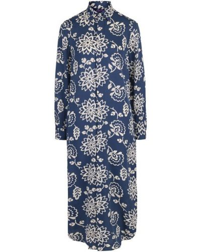 Платье платье-рубашка с цветочным принтом Ralph Lauren