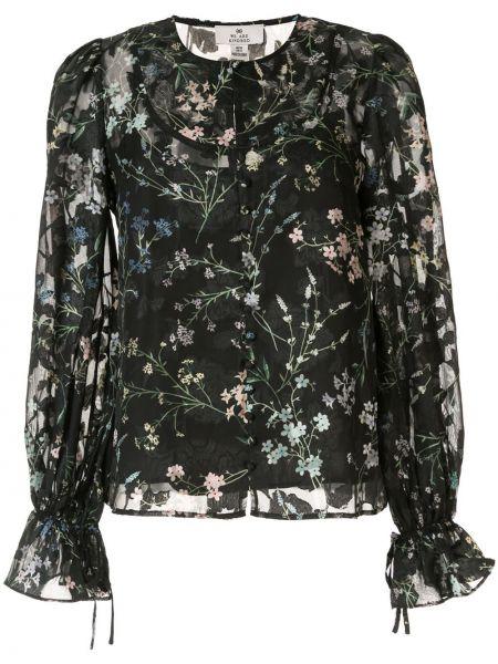 Блузка с длинным рукавом прозрачная с цветочным принтом We Are Kindred