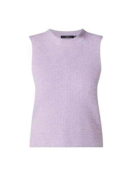 Fioletowa prążkowana kamizelka Vero Moda