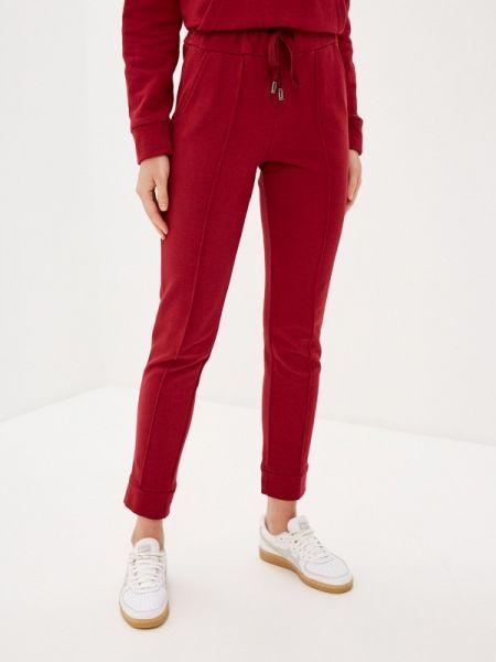 Спортивные бордовые спортивные брюки Krismarin
