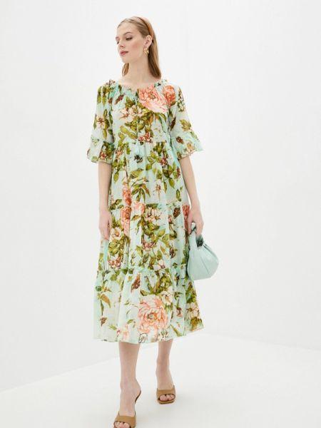 Платье прямое весеннее Fabretti