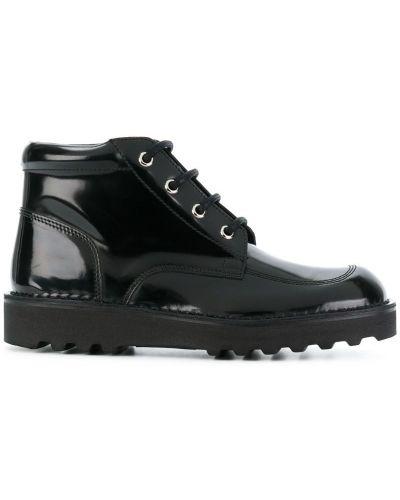 Ботинки на шнуровке кожаные Maison Margiela