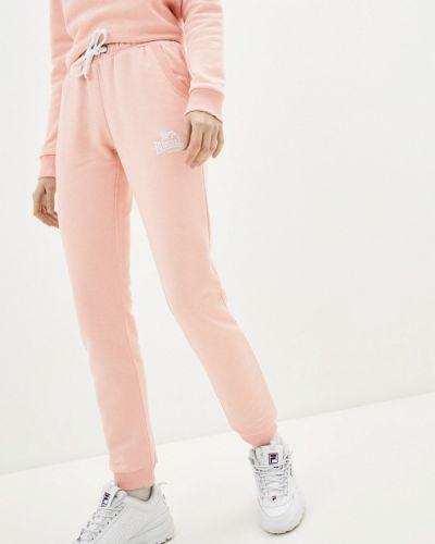 Розовые спортивные брюки Lonsdale
