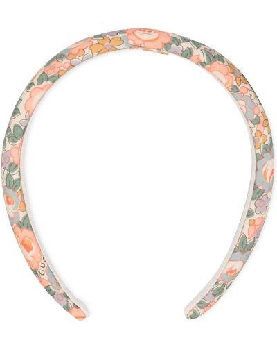 Bawełna bawełna opaska na głowę z haftem Gucci