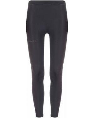 Черные брюки для бега эластичные из плотной ткани Craft