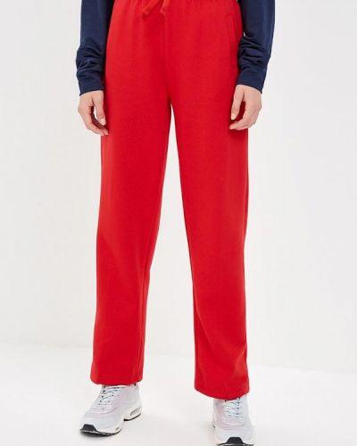 Красные спортивные брюки с карманами Urban Classics