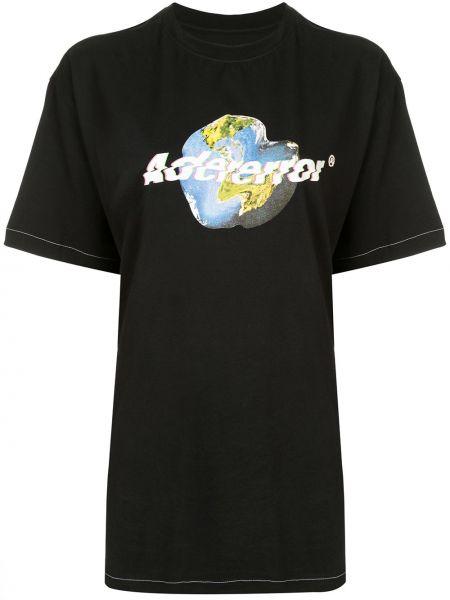Koszula z krótkim rękawem z nadrukiem elastyczna Ader Error