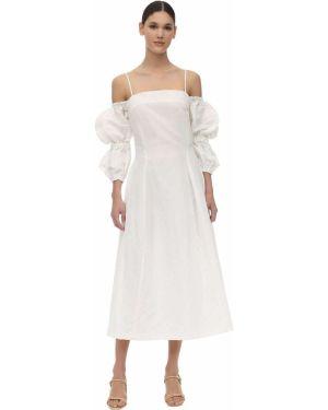 Платье миди - белое Rejina Pyo