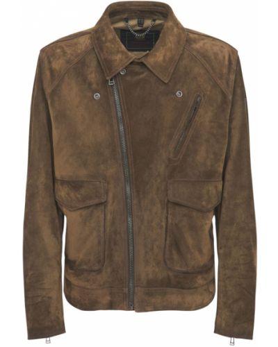 Замшевая куртка Belstaff