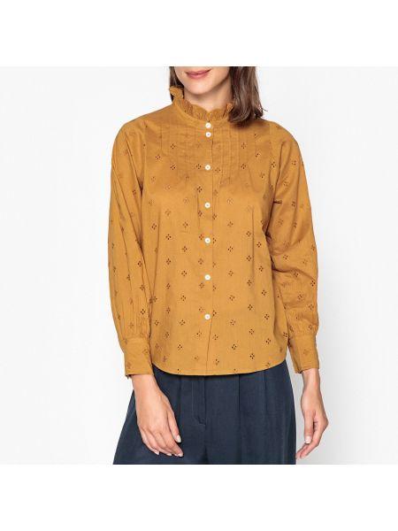 Приталенная рубашка с длинным рукавом Soeur