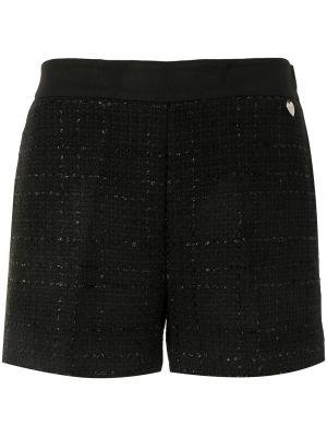 Хлопковые шорты - черные Twin-set