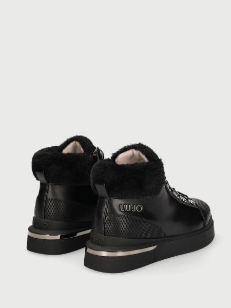 Черные ботинки Liu Jo