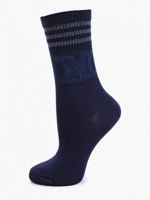 Синие итальянские носки Max Mara Leisure