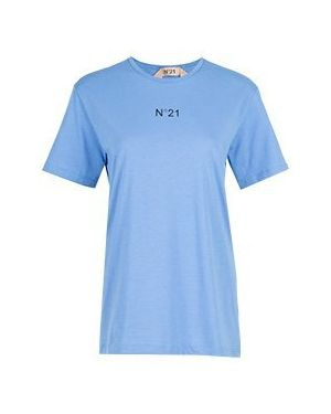 Футболка - голубая No.21