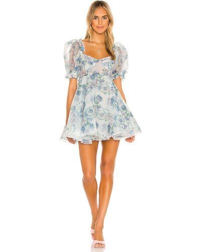 Niebieska sukienka Selkie