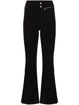 Czarne spodnie rozkloszowane Cordova