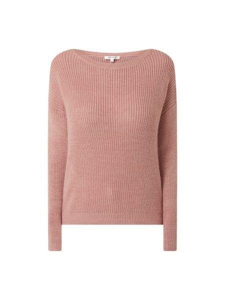 Prążkowany różowy sweter Review