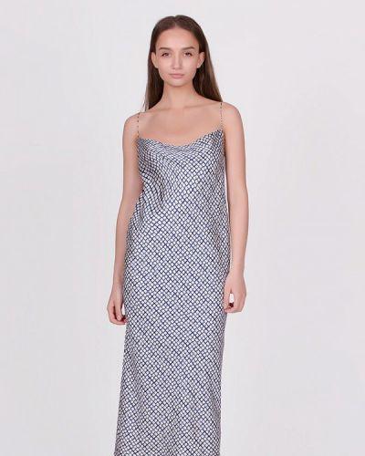 Платье весеннее синее Kriza