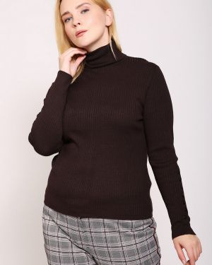 Пуловер из вискозы с отворотом Gerry Weber