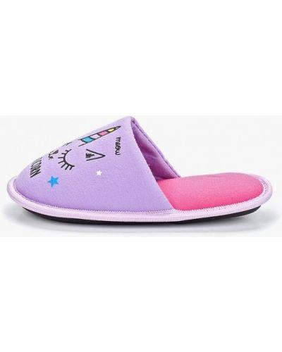 Тапочки фиолетовый Modis