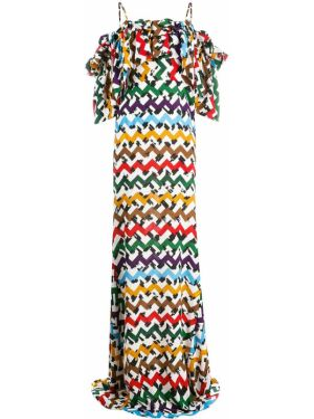 Расклешенное приталенное платье мини с оборками с воротником Edeline Lee