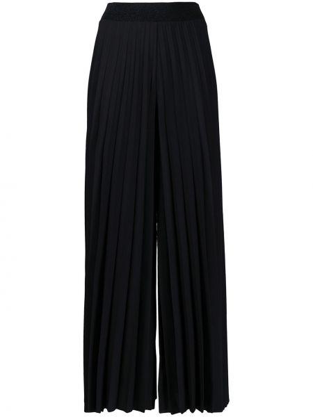 Черные брюки с поясом свободного кроя D.exterior