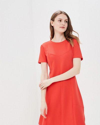 Красное платье весеннее Incity