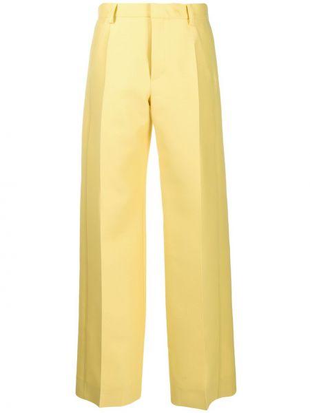Szerokie spodnie z wysokim stanem z kieszeniami Lanvin