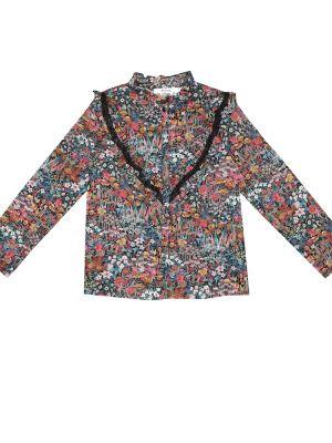 Ватная хлопковая блузка Bonpoint