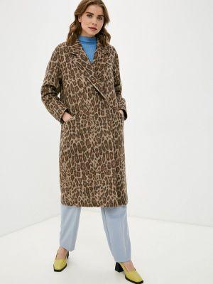 Коричневое пальто Asya Malbershtein