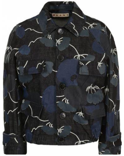 Джинсовая куртка приталенная Marni
