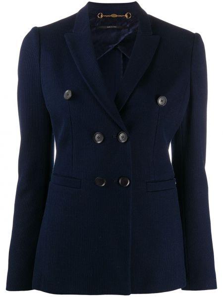 Marynarka bawełniana - niebieska Gucci