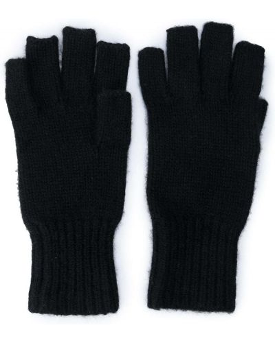 Rękawiczki bez palców - czarne Khaite