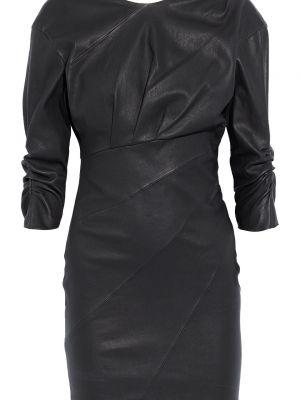 Платье мини с открытой спиной - черное Iro