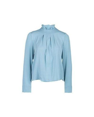 Голубая блузка Emporio Armani