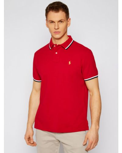 Czerwone polo Polo Ralph Lauren