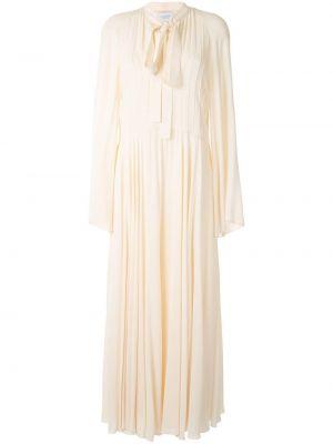 Платье макси с воротником Giambattista Valli