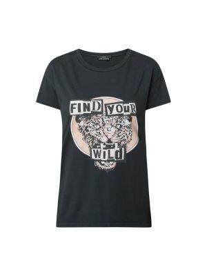 Czarny t-shirt bawełniany Set