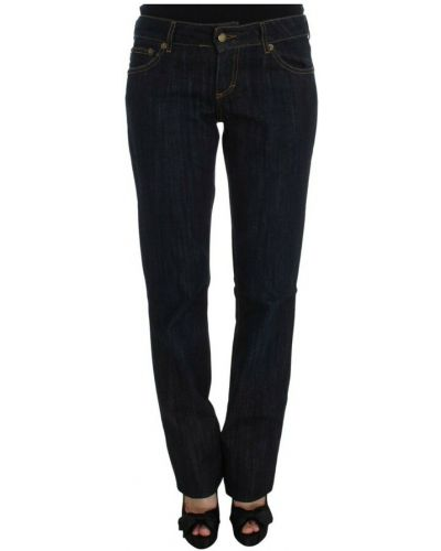 Niebieskie mom jeans Roberto Cavalli