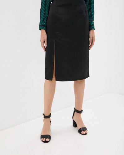 Черная прямая юбка карандаш Trendyangel