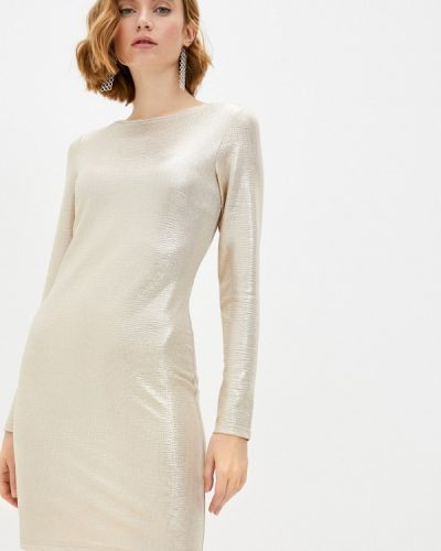 Вечернее платье золотое Adzhedo