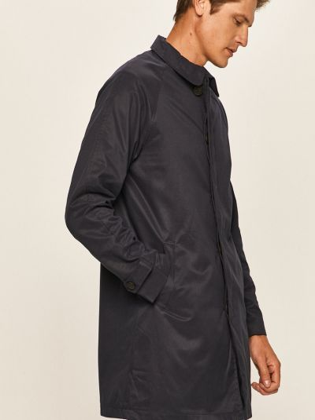 С рукавами синее пальто с карманами Only & Sons