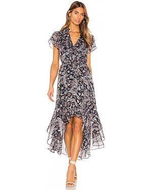 Платье миди шифоновое с запахом 1. State