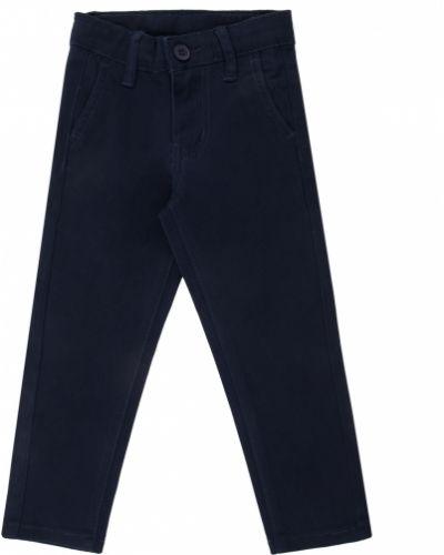 Текстильные синие брюки Fun Time