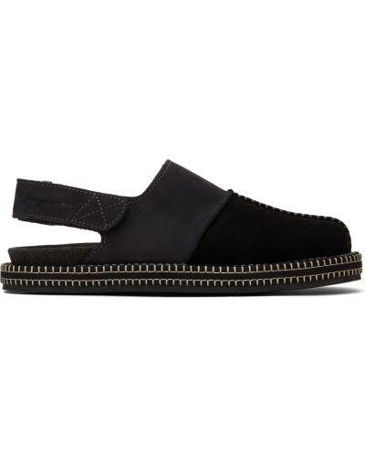 Loafers zamszowe - czarne Jacquemus