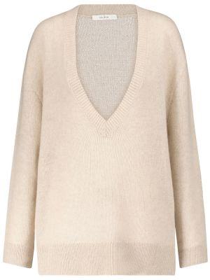 Бежевый кашемировый свитер The Row