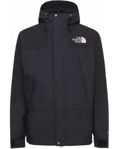 Черная куртка с капюшоном на молнии The North Face