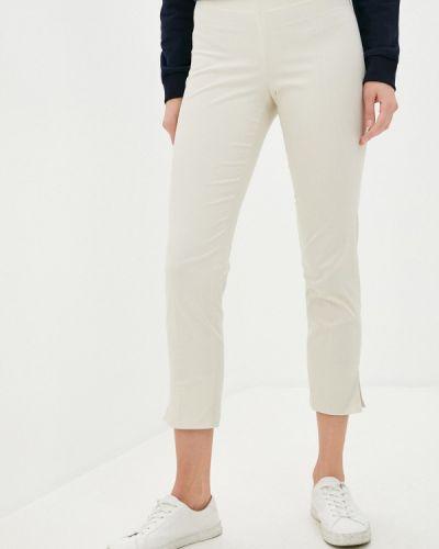 Повседневные бежевые брюки Trussardi Collection